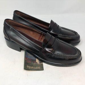 eastland princeton burgundy penny loafers sz 12N